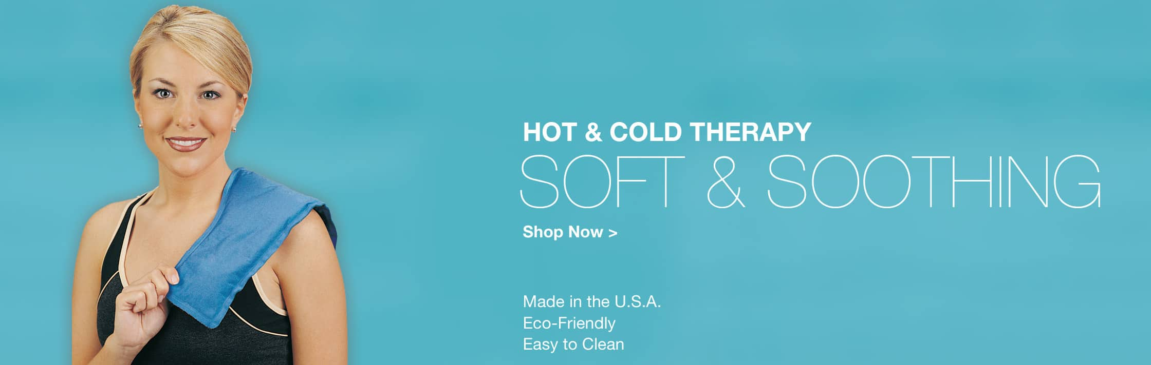 Soft & Soothing Hot & Cold Therapy