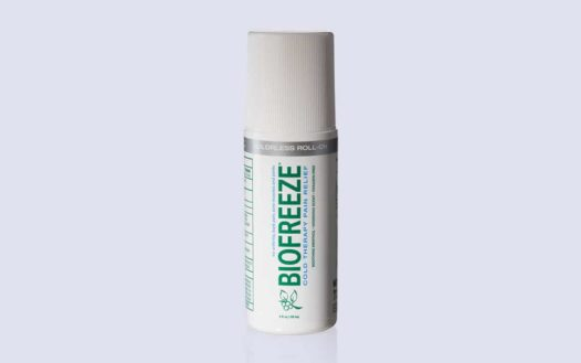 BIOFREEZE Colorless Pain Reliever Gel, 3 Ounce Roll-On