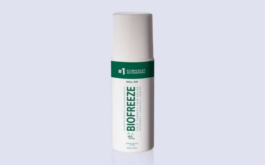 BIOFREEZE Classic Green Pain Reliever Gel, 3 Ounce Roll-On