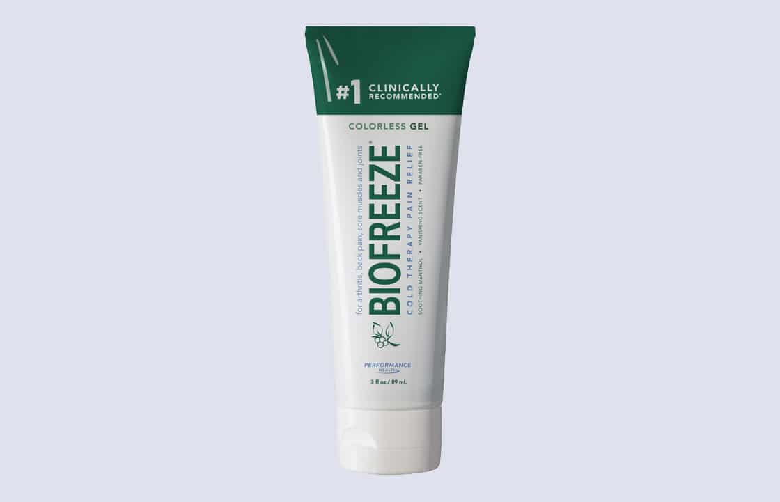 BIOFREEZE Colorless Pain Reliever Gel, 4 oz Tube